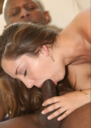Interracial sex helps cheerful chick with beautiful body enjoy life to the fullest